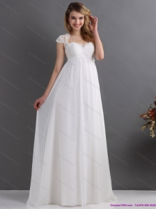 New 2015 Inexpensive Sweetheart Wedding Dress with Floor Length