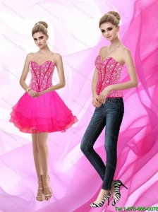 Popular Sweetheart A Line Beading 2015 Prom Dress