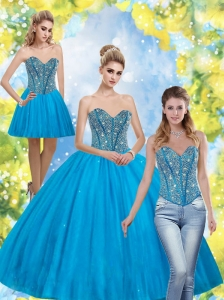 Perfect Beading Sweetheart Quinceanera Dresses for 2015