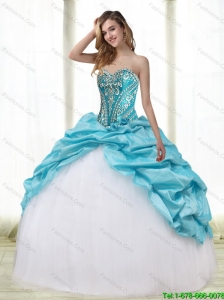 Gorgeous Multi Color 2015 Quinceanera Dresses with Embroidery