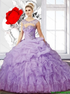 Elegant Ball Gown Sweetheart Quinceanera Dress with Ruffles