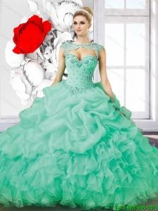 Pretty Sweetheart Beaded Quinceanera Dresses for 2015 Summer