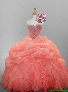 Perfect Ball Gown Sweetheart Quinceanera Dresses for 2016 Summer