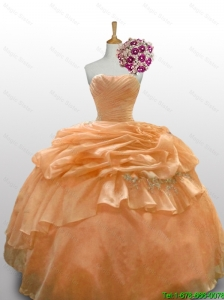 2016 Summer New Style Quinceanera Dresses with Paillette and Ruffled Layers