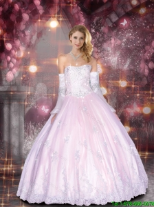2015 Gorgeous Sweetheart Quinceanera Dresses with Beading and Lace