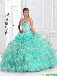 New Arrivals Appliques Sweet 16 Dresses with Ruffled Layers