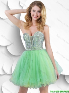 New Arrivals Gorgeous A Line Strapless Prom Gowns with Beading