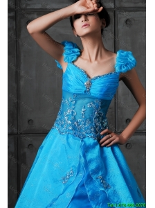2016 Luxurious A Line Sweetheart Beaded Prom Dresses