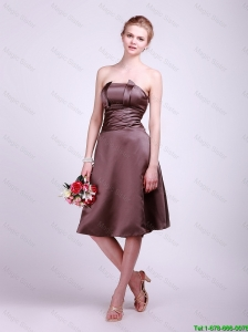 New Arrivals  Strapless Short Prom Dresses with Ruching