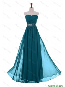 Perfect Simple Empire Sweetheart Beaded Prom Dresses with Belt