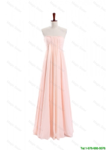 Pretty Gorgeous Empire Strapless Ruching Prom Dresses for Homecoming