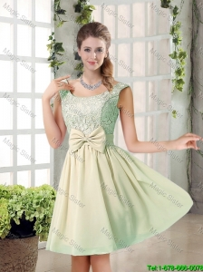 2016 Summer A Line Strapless Ruching Bridesmaid Dresses in Tulle