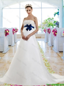 Best Selling V Neck Bridal Gowns with Short Sleeves for 2016