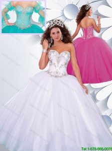 New Arrivals Ball Gown Sweetheart Beading Sweet 16 Dresses