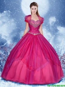 New Style Ball Gown Sweet 16 Dresses with Beading