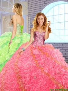Best Selling Ball Gown Sweetheart Quinceanera Dresses for 20161