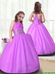 New Arrivals Ball Gown Little Girl Pageant Gowns with Beading for 2016