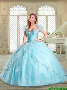 Beautiful Sweetheart Beading Quinceanera Dresses for 2016