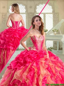 The Most Popular Floor Length Sweet 16 Dresses with Ruffles and Beading