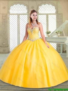 Lovely Sweetheart Beading Quinceanera Dresses for Spring