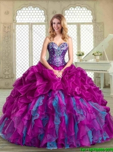 Popular Sweetheart Quinceanera Dresses with Pick Ups and Ruffles