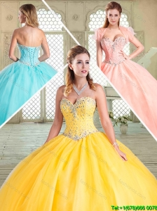 Pretty Sweetheart Beading Sweet 16 Dresses for Summer