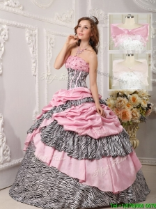 2016 Cheap Ball Gown Beading Quinceanera Dresses in Multi Color