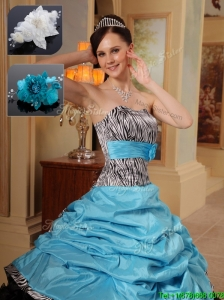 2016 Quinceanera Gowns in Zebra
