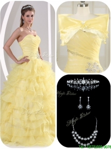 Latest Beading and Appliques Cute Quinceanera Dresses for Fall