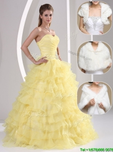Discount Beading and Appliques Sweetheart Quinceanera Dresses