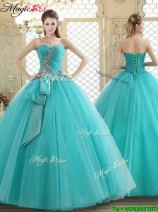 Lovely Sweetheart Prom Dresses with Beading and Paillette