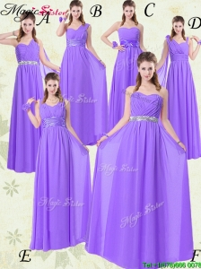 Affordable Empire Floor Length  Bridesmaid Dresses for Fall