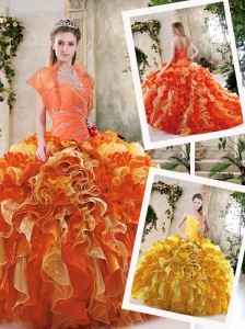 2016 Exclusive Sweetheart Quinceanera Dresses with Zipper Up