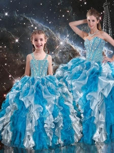 2016 Luxurious Ball Gown Sweetheart Multi Color Princesita with Quinceanera Dresses