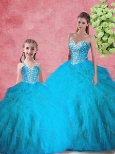 Latest Ball Gown Sweetheart Princesita with Quinceanera Dresses Beading for Summer