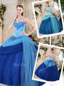 Beautiful Sweetheart Beading Quinceanera Dresses for Fall