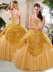 The Most Popular Floor Length Quinceanera Dresses with Beading and Paillette for Fall