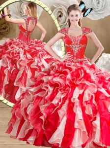 Cute Sweetheart Multi Color Quinceanera Dresses with Beading