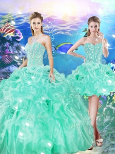 Unique Ball Gown Sweetheart Detachable Quinceanera Dresses for 16 Birthday Party