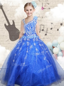 Latest Ball Gown Asymmetrical Mini Quinceanera Dresses with Beading