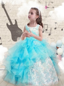 Fashionable Appliques and Ruffles Mini Quinceanera Dresses for 2016