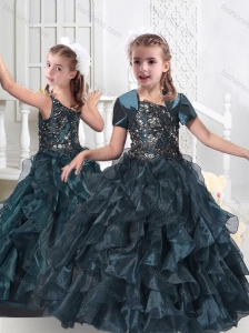 Hot Sale Hot Sale Little Girl Pageant Dresses with Beading and Ruffles