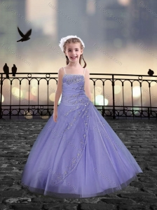 Spaghetti Straps Beaded  Mini Quinceanera Dresses in Lavender
