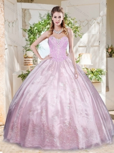 Best Beaded and Applique Quinceanera Dress with Really Puffy