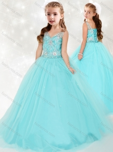 New Arrivals See Through Straps Mini Quinceanera Dress with Beading
