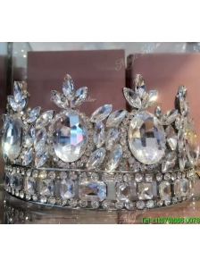 Classical Wedding Tiara with Rhinestone