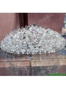 Gorgeous Tiara with Shimmering Rhinestone