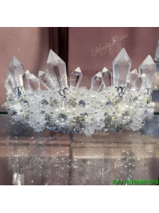 Most Popular Tiaras with Rhinestone And Imitation Pearl