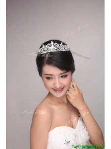 Cute Beaded Tiaras in Silver for 2017