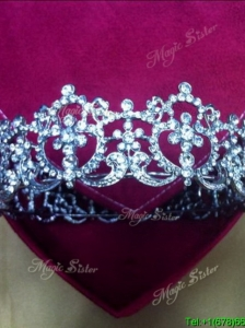Perfect 2017 Silver Tiaras with Beading
